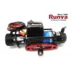 Runva EWB 9.5 Black Edition nööriga (4309kg 108:1) IP67 12V